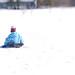 in the white, white snow....