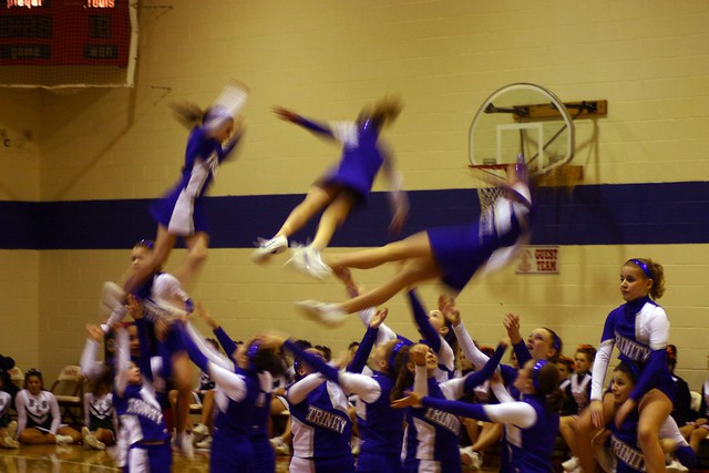 Lutheran Cheerleading State Finals - Tumbling Down