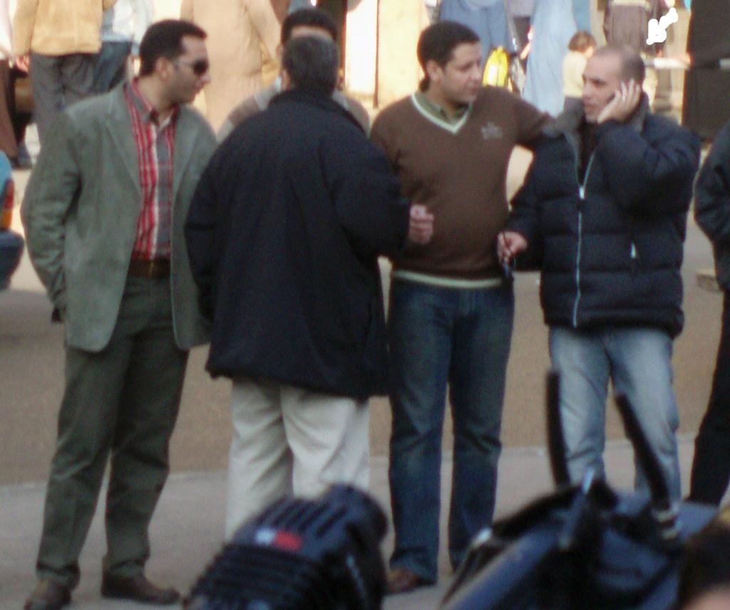 State Security Officer Sherif el-Qamati