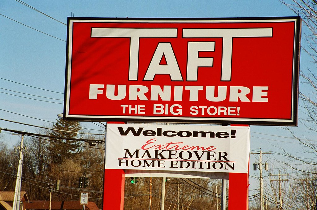 Taft Furniture The Big Store Welcome Abc Tv Extreme Makeov Flickr