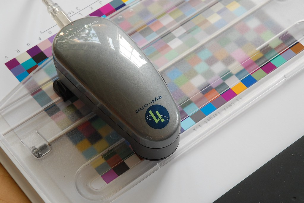 Eye-One Spectrophotometer | The tool of my trade as a color