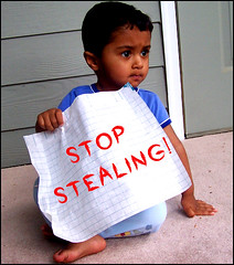 stealing on flickr continues... | by Nisha A
