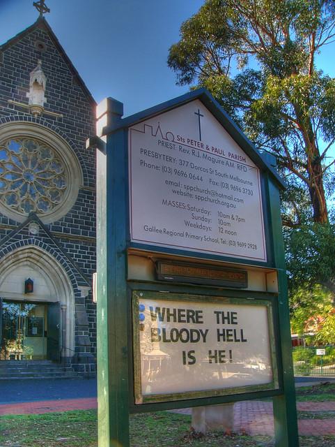Sts. Peter & Paul Parish Church, South Melbourne (HDR)