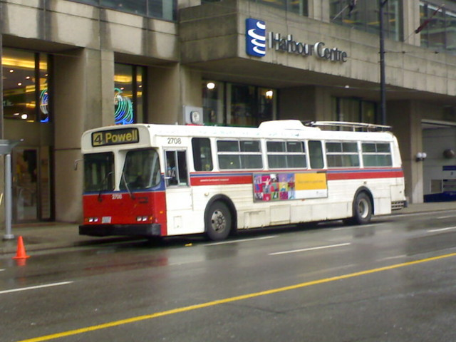 Powell Trolley on North Side of Harbour Centre