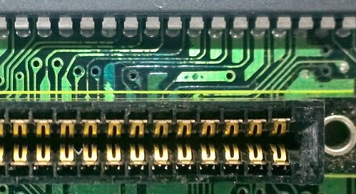 Corrosion on Mega Drive board | by Deep Fried Brains