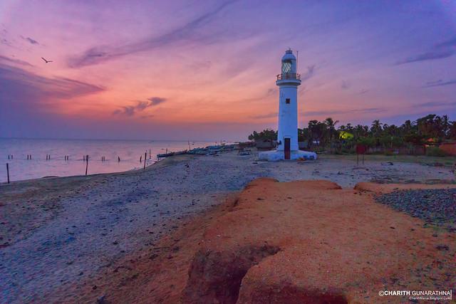 Talaimannar Lighthouse - Mannar - Sri Lanka