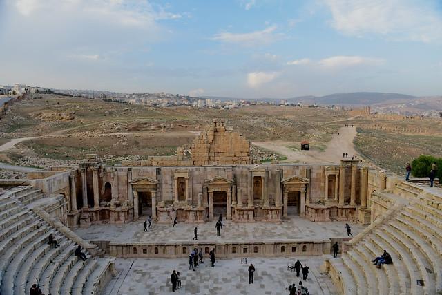 Southern Theatre, Jerash, Jordan, January 2018 411