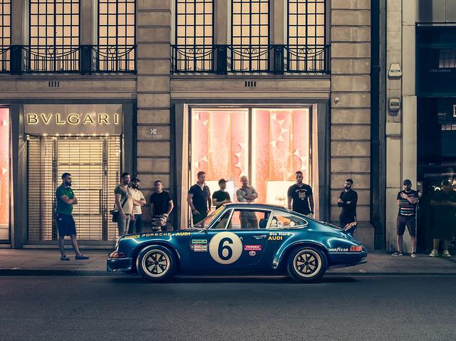 Porsche 73RSR Sunoco tribute recreation