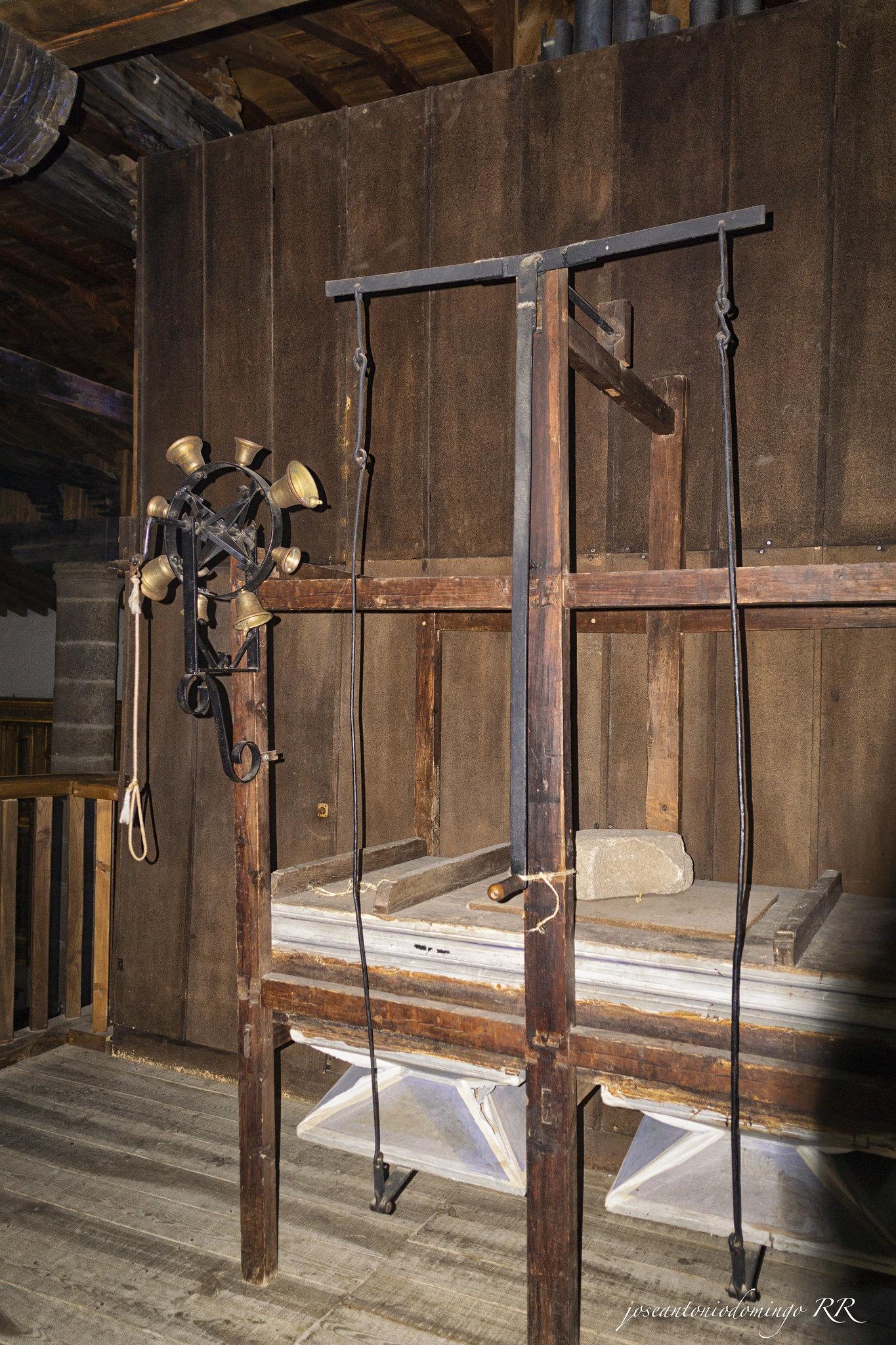 Mecanismo del órgano (1716)