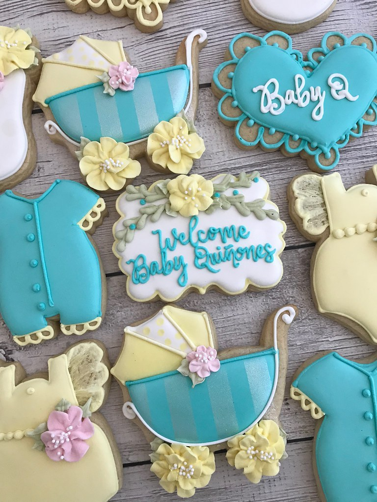 Gender Neutral Baby Shower Cookies Sonia Eckley Flickr