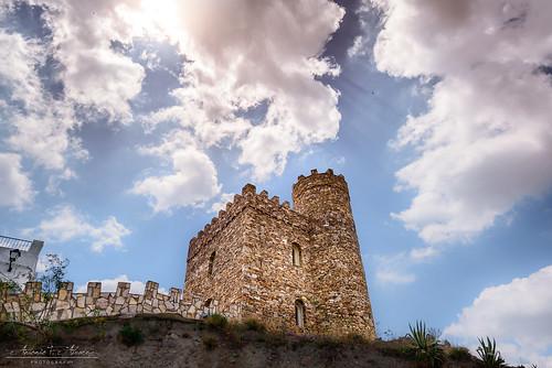castle castillo sky cielo nubes lijar almería españa spain cloud nikon d750 tamron 1530 landscape