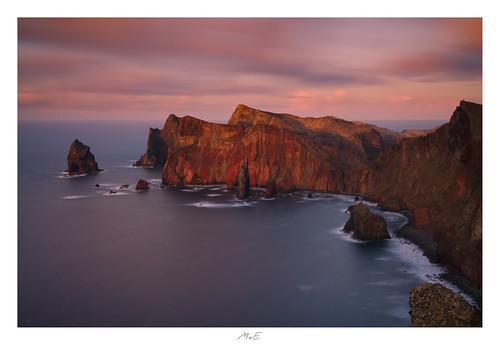madeira island atlantic ocean bolder summer seascape waves crashing weather cliffs tides elements wind volcanic needle