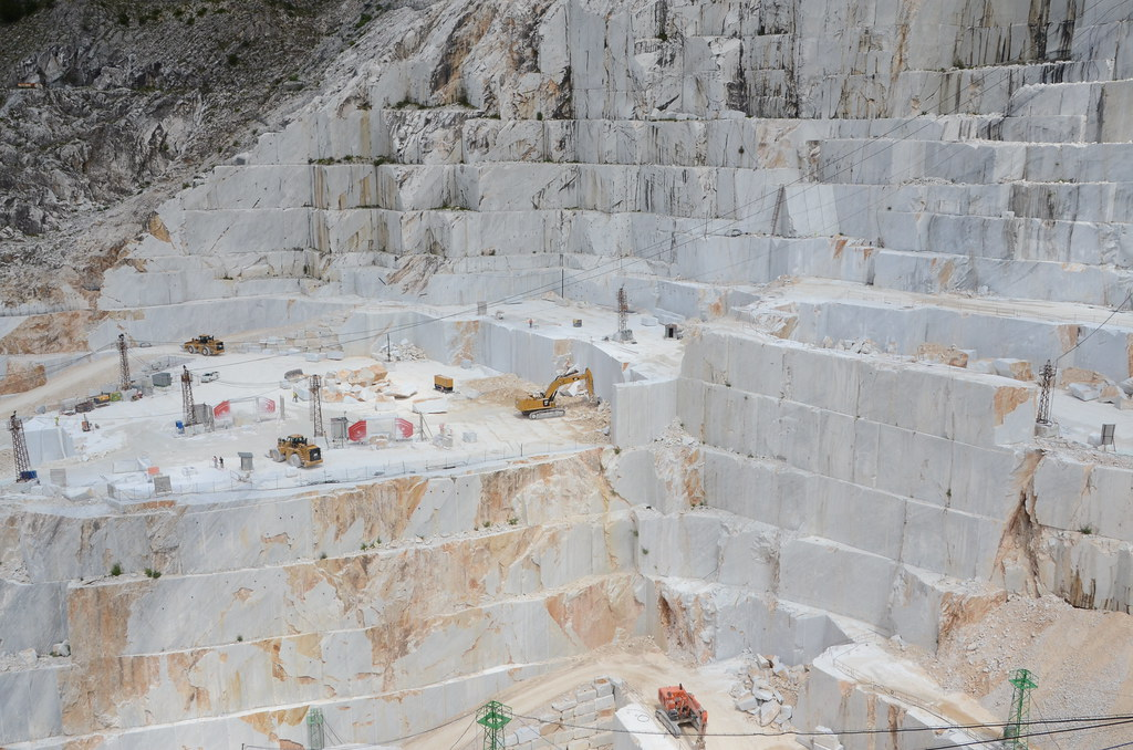 Carrara Marble Quarry | These are the same quarries where Mi