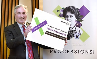 Supporting PROCESSIONS | by Iain Gray MSP