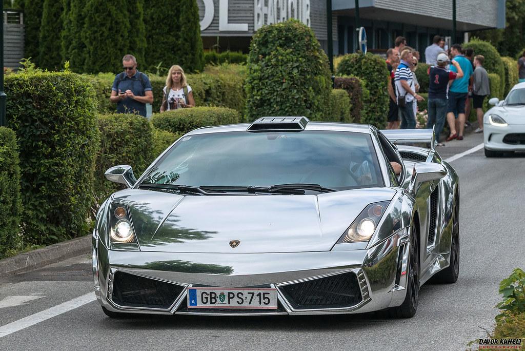 Lamborghini Gallardo Chrome Sportwagenfestival 2018 Veld Flickr