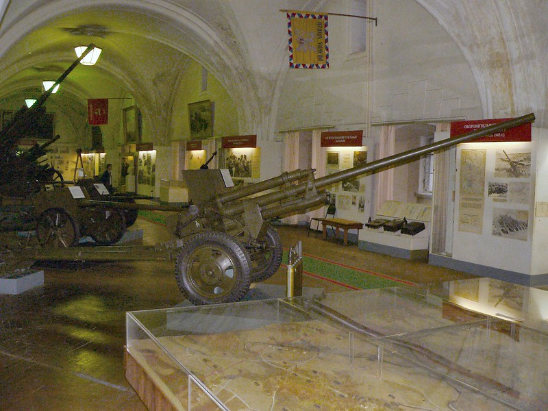 57毫米癌-2枪国防部。1943年的4