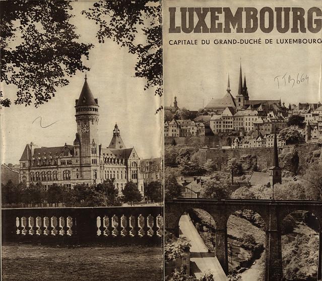 Luxembourg, Capitale du Grand-Duché de Luxembourg; 1930_1