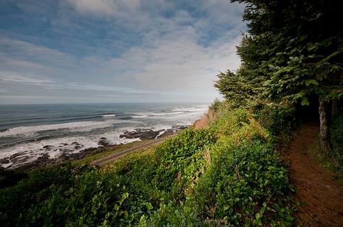 coast hiking karl landscape travel oregon usa