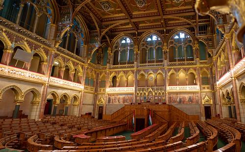 Hungarian Parliament Building Interior | by nan palmero