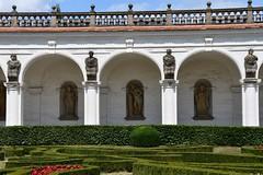 Kolonnaden im Barockgarten Kroměříž (Kremsier)