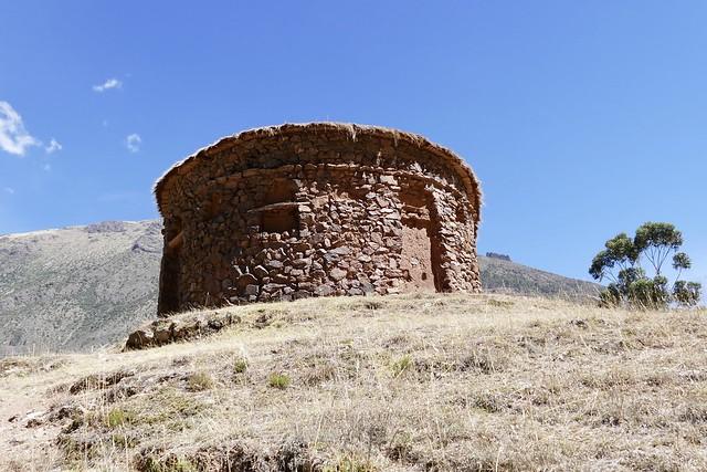 Sitio Arqueologico de Urco Calca Valle Sagrado Peru