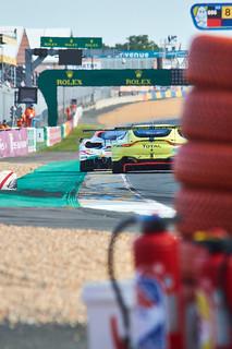 GTE battle - 24h du Mans 2018   by Thibault Gaulain