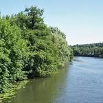 Blick auf die Ruhr von der Kampmannbrücke aus