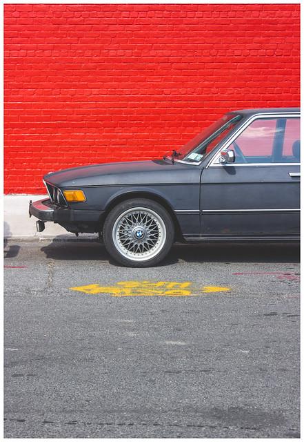 Red Wall & BMW, Brooklyn