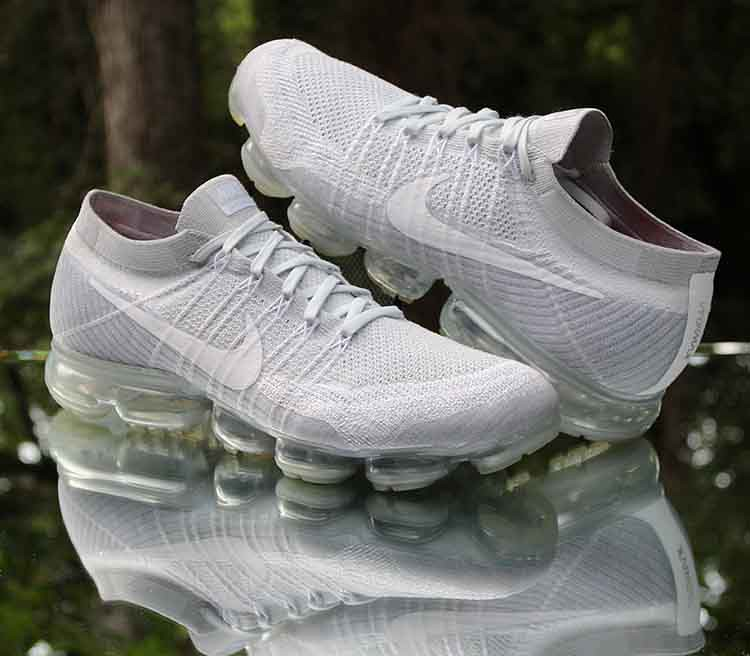 brand new official store cheapest price Nike Air VaporMax Flyknit Pure Platinum Wolf Grey 849558-0… | Flickr