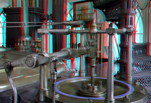 detail steam-engine Cruquius 3D