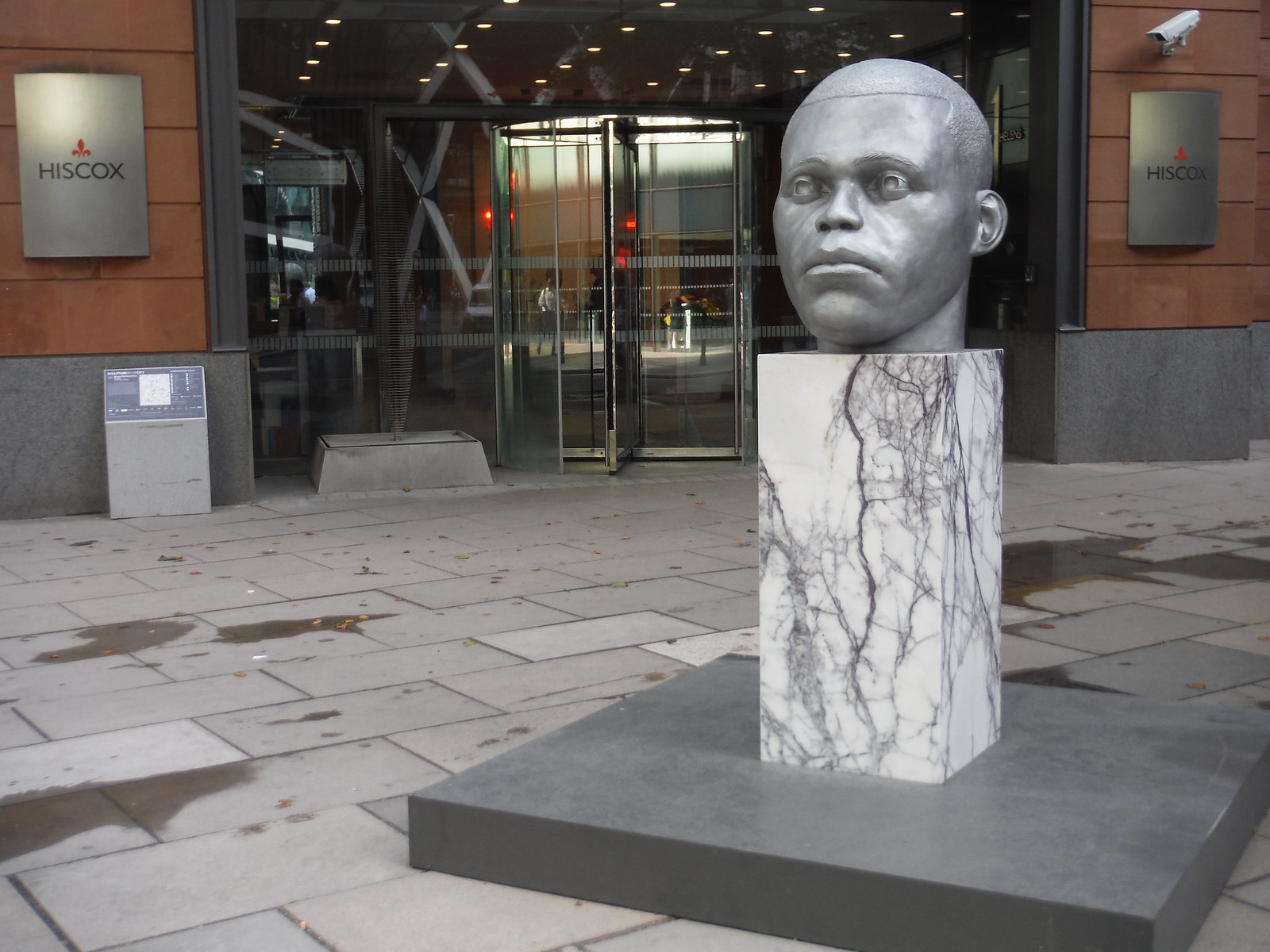 Thomas J Price - Numen (Shifting Votive Three) SWC Walk Short 24 - Sculpture in the City