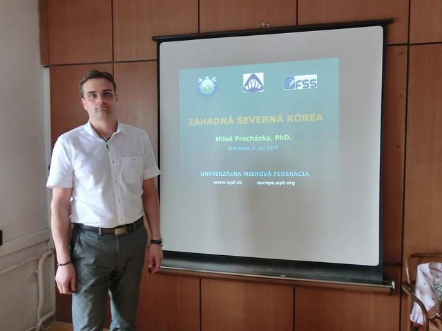 Slovakia-2018-06-05-Lecture Unlocks 'Secretive North Korea'