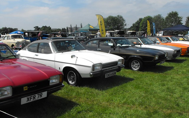 Ford Capris @ Luton 2018 (2)