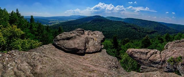 View from Rocher du Brotsch