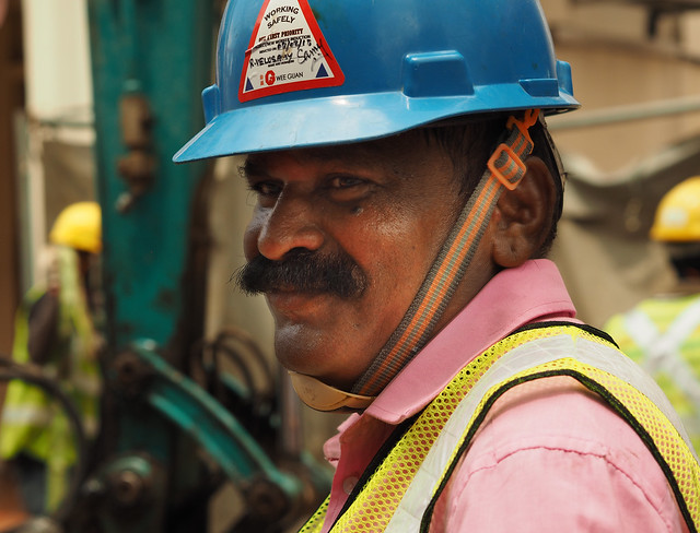 An Indian Foreign Worker in Singapore