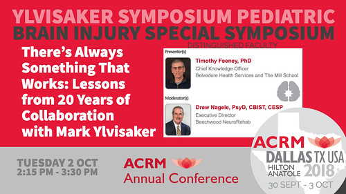 YLVISAKER Brain Injury Pediatric SYMPOSIUM :: ACRM Annual Conference #ACRM2018 | by ACRM-Rehabilitation