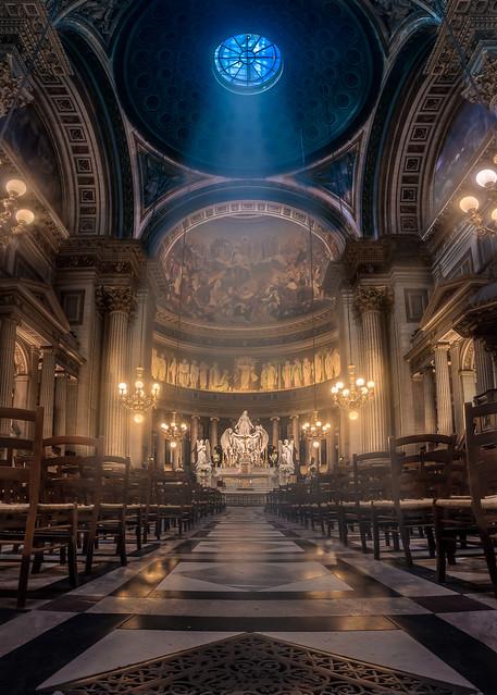 La magnifique église de la Madeleine  2