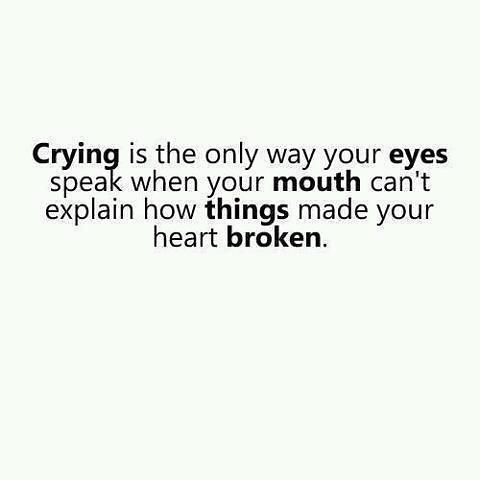 Sad Love Quotes : CRYING is the only way your EYES speak w ...