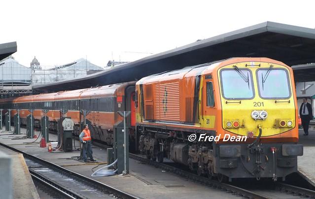 Irish Rail 201 in Dublin Heuston.