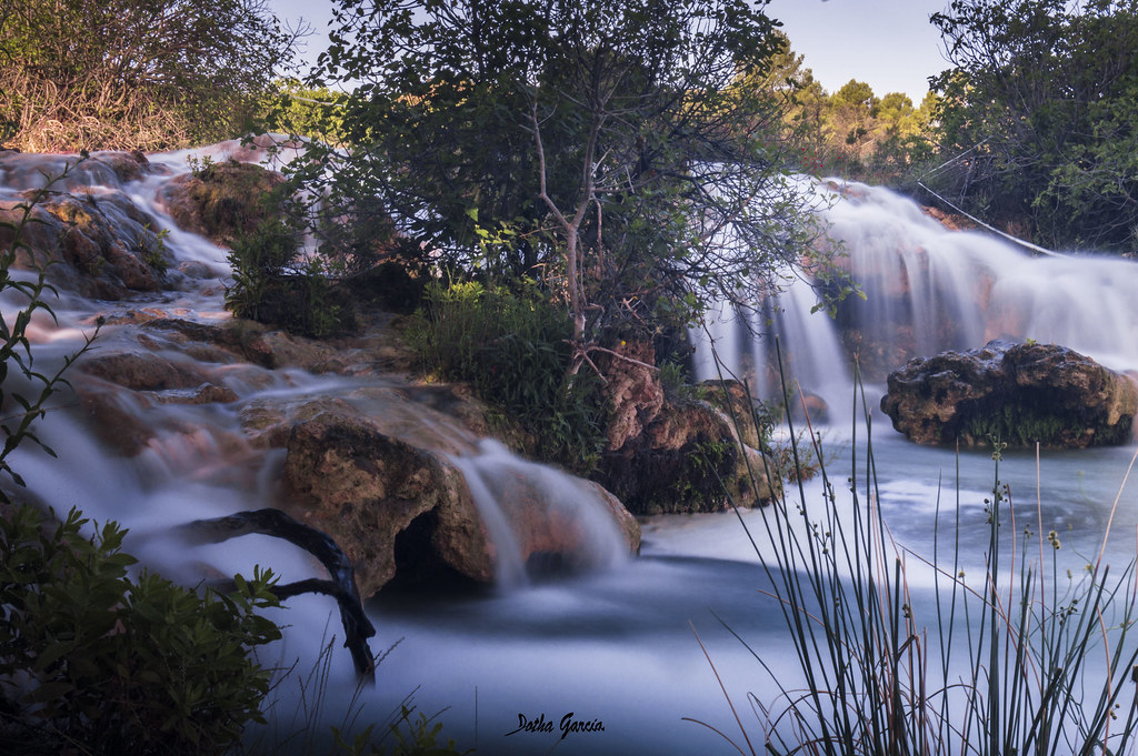 Silk waterfalls