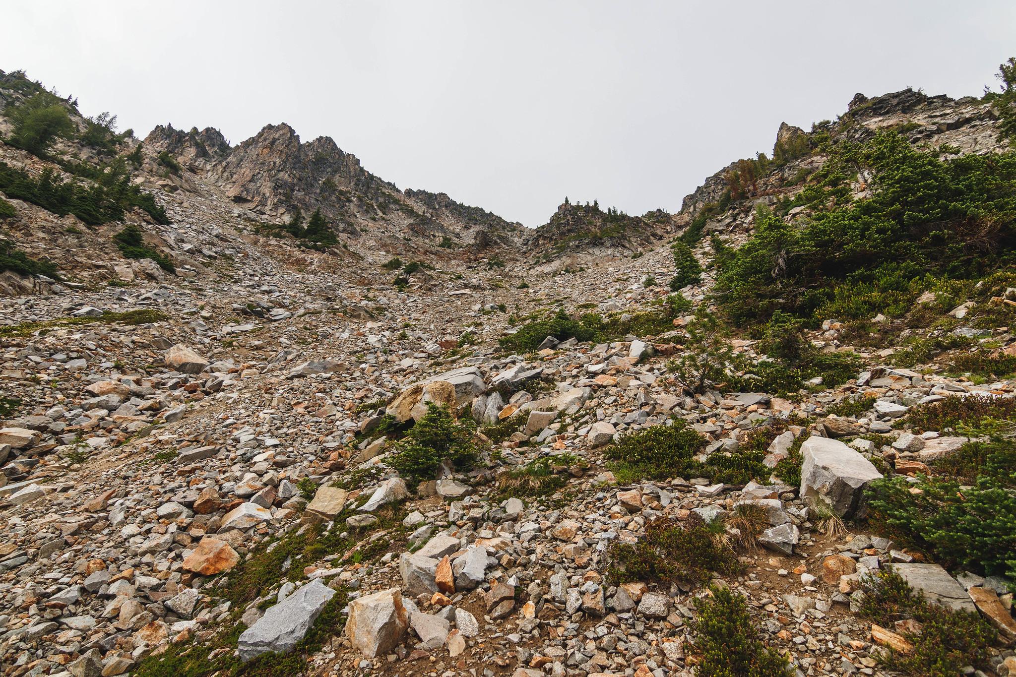 Buckskin Mountain south gully