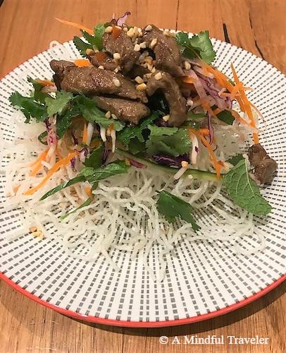 Vietnamese Beef Salad 2
