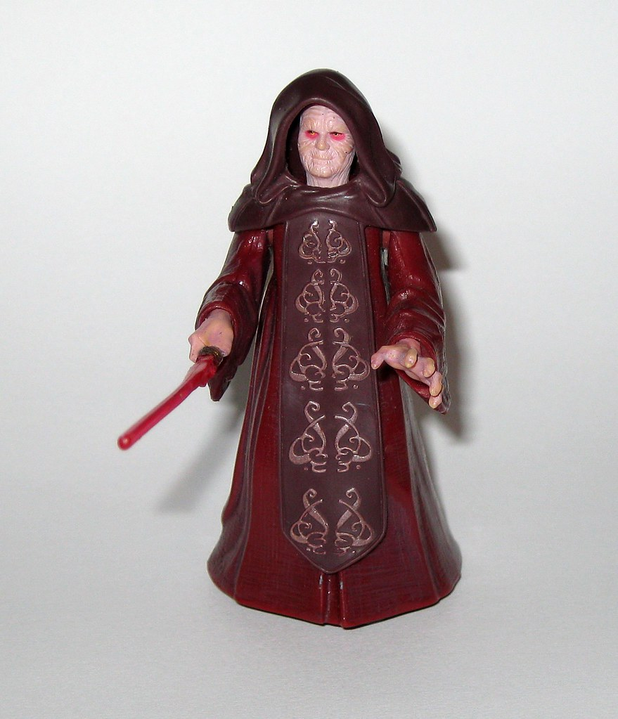 Emperor Palpatine With Glowing Force Lightning Changes T Flickr