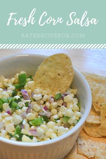 Fresh Corn Salsa | by katesrecipebox