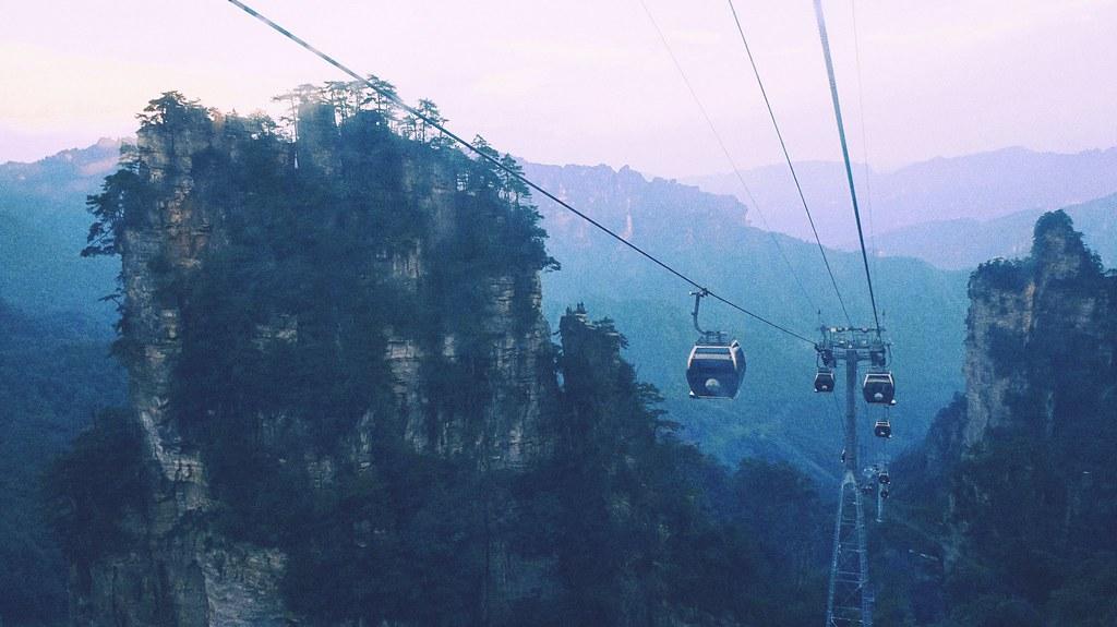 Wulingyuan Scenic Area- Vũ Lăng Nguyên đây