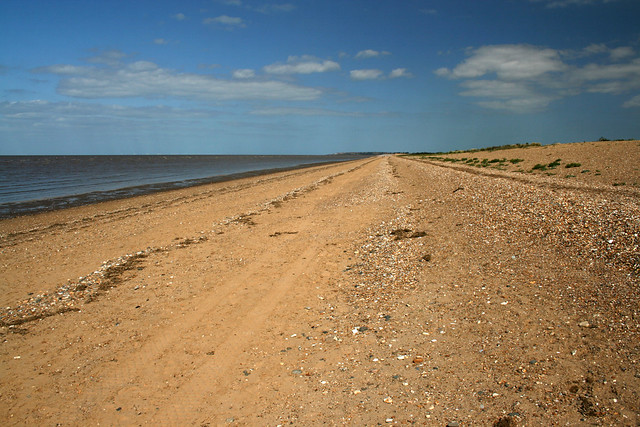 The beach near Snettisham