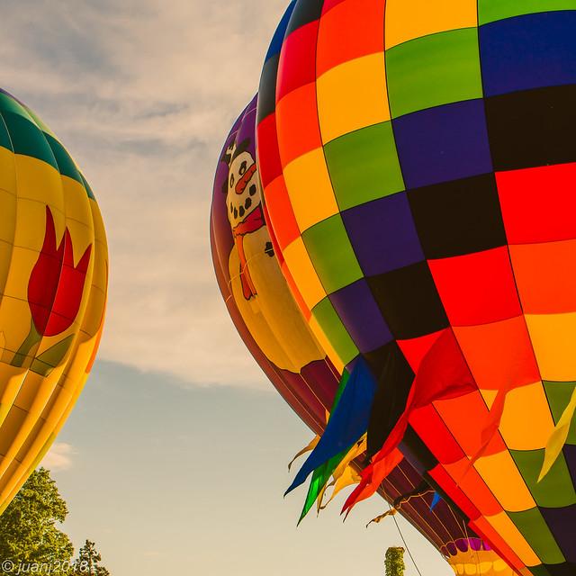 Balloons in Helen, GA