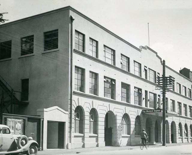 Electricity Department Head Office, Cumberland Street, 1940