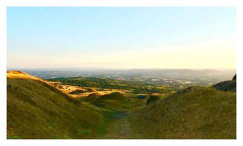 shropshire robindemel titterstonecleehill evening sunset