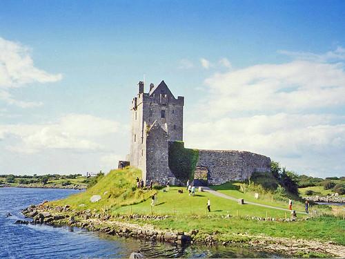 irlande chateau castel eau mer